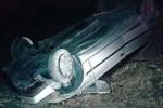 یک کشته و دو زخمی در حادثه سقوط یک دستگاه خودرو به دره در منطقه تاراز