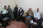 دیدار فرماندار به همراه جمعی از مدیران اجرایی شهرستان با امام جمعه مسجدسلیمان+ تصاویر
