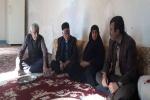بازدید رییس اداره بنیاد شهید و امور جانبازان مسجدسلیمان از خانواده شهدا+ تصاویر