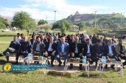اولین زمین مینی گلف استان خوزستان در مسجدسلیمان افتتاح شد + تصاویر