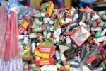 کشف بیش از۲۱ هزار عدد مواد محترقه غیر مجاز در مسجدسلیمان