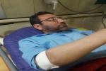 عضو هیئت مدیره باشگاه فرهنگی ورزشی نفت مسجدسلیمان به دلیل عارضه قلبی در بیمارستان بستری شد