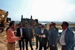 بازدید میدانی فرماندار مسجدسلیمان از روند پیشرفت فیزیکی جاده میانبر اهواز – مسجدسلیمان
