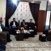 دیدار رییس بنیاد شهید  و فرمانده انتظامی مسجدسلیمان با جانباز ۷۰ درصد دفاع مقدس