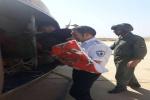 اعزام جوان ۱۸ ساله به دلیل عقرب گزیدگی و کودک ۴ ساله با اورژانس هوایی از مسجدسلیمان به اهواز
