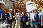 بازدید وزیر تعاون، کار و رفاه اجتماعی از شرکت پتروشیمی مسجدسلیمان + تصاویر