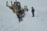 ارتفاع برف در منطقه تاراز اندیکا به بیش از یک متر رسید